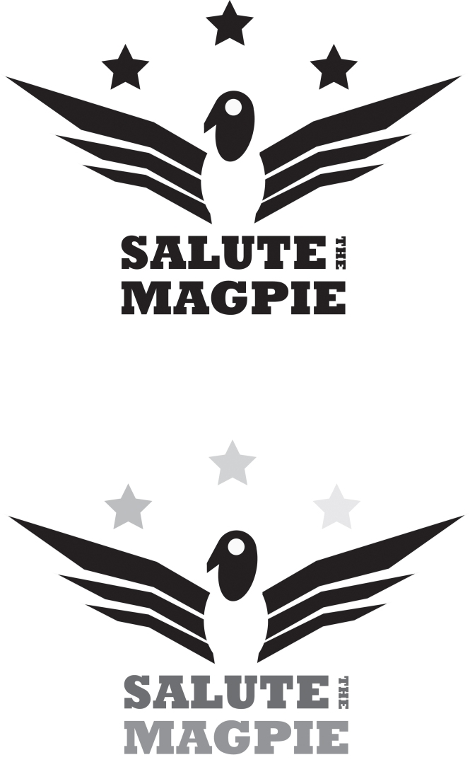 SALUTE THE MAGPIE!