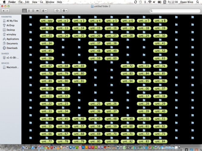 OSX MINECRAFT CREEPER